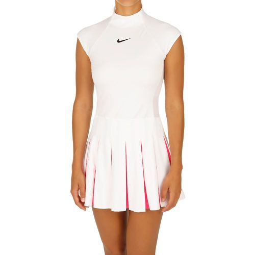 Nike Serena Williams Premier Dress Women - White, Pink