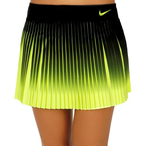 Nike Premier Flex Victory Skirt Women - Black, Neon Yellow