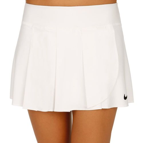 Nike Advantage Premier Power Skirt Women - White, Black