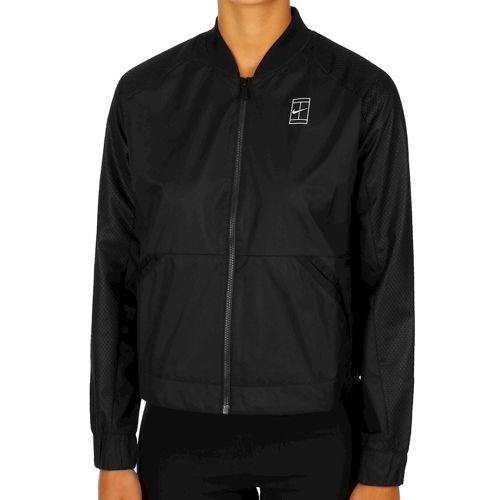 Nike Court Full Zip Training Jacket Women - Black