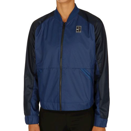 Nike Court Full Zip Training Jacket Women - Dark Blue, Black