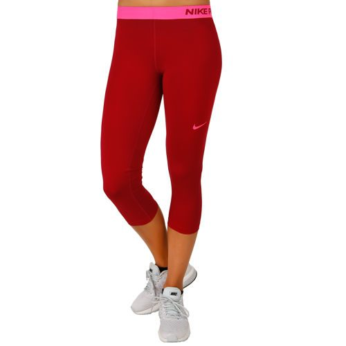 Nike Pro Dry Fit Capri Pants Women - Red, Pink