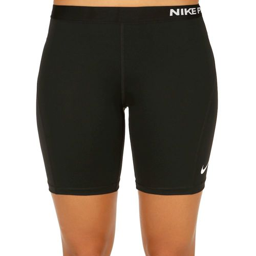 "Nike Pro Dry Fit 7"" Shorts Women - Black, White"