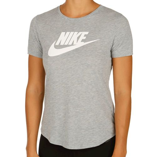 Nike Futura Icon T-Shirt Women - Dark Grey, White