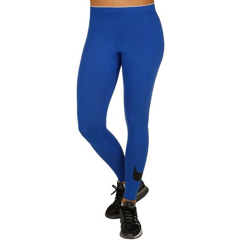 Nike Swoosh Sportswear Tight Training Pants Women - Dark Blue, Black