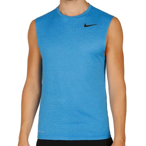 Nike Dri-FIT Sleeveless Sleeveless Men - Blue, Black