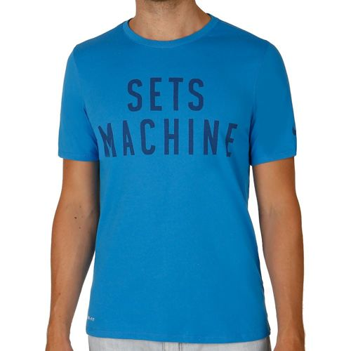 Nike Sets Machine Training T-Shirt Men - Blue, Dark Blue