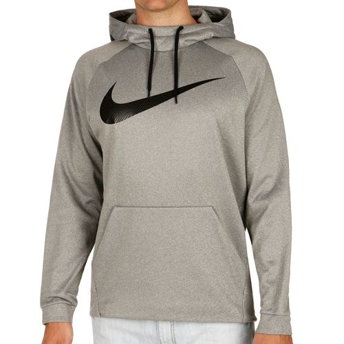 Nike Therma Training Hoody Men - Dark Grey, Black