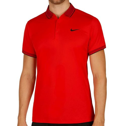 Nike Court Polo Men - Red