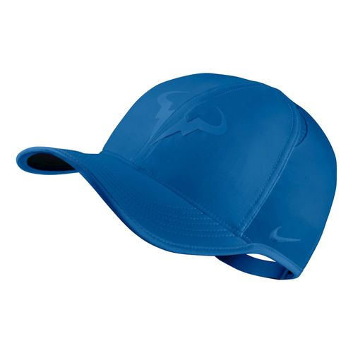 Nike Rafael Nadal Feather Light Cap Men - Blue, Black