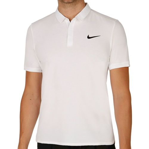 Nike Roger Federer Advantage Premier Polo Men - White, Black