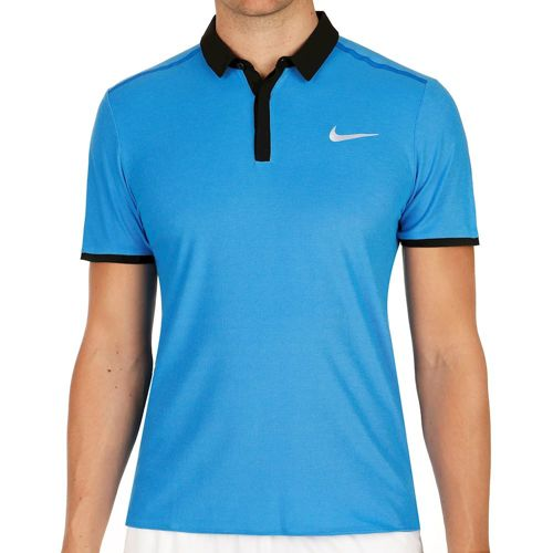 Nike Roger Federer Advantage Premier Polo Men - Blue, Black