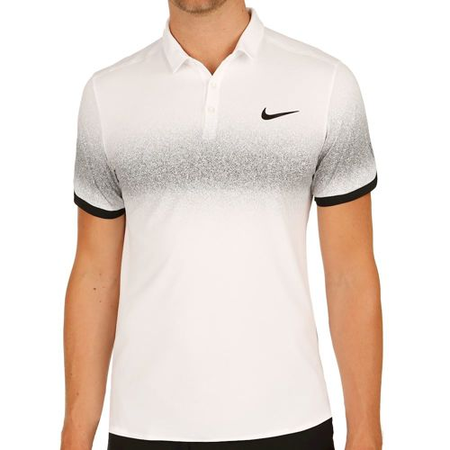 Nike Roger Federer Advantage Polo Men - White, Black