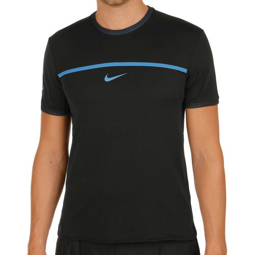 Nike Rafael Nadal Challenger T-Shirt Men - Black, Orange