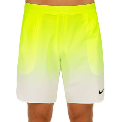 "Nike Premier Gladiator 9"" Shorts Men - Neon Yellow, White"