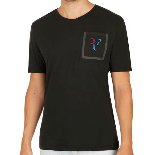 Nike Roger Federer Stealth V-Neck T-Shirt Men - Black
