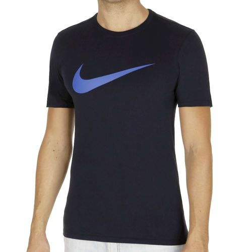 Nike Chest Swoosh T-Shirt Men - Dark Blue, Blue