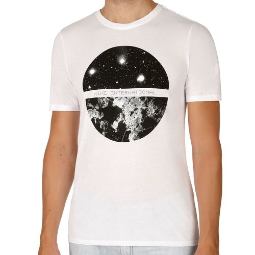 Nike International Satellite T-Shirt Men - White, Black