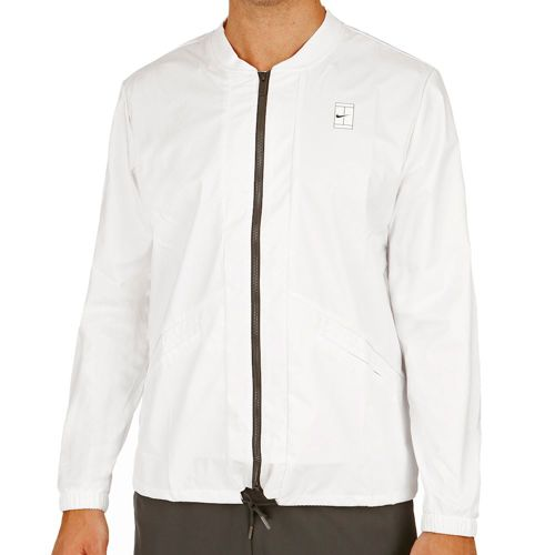 Nike Court Training Jacket Men - White