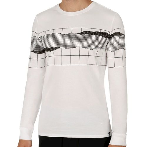 Nike Court Sportswear Net Long Sleeve Men - White