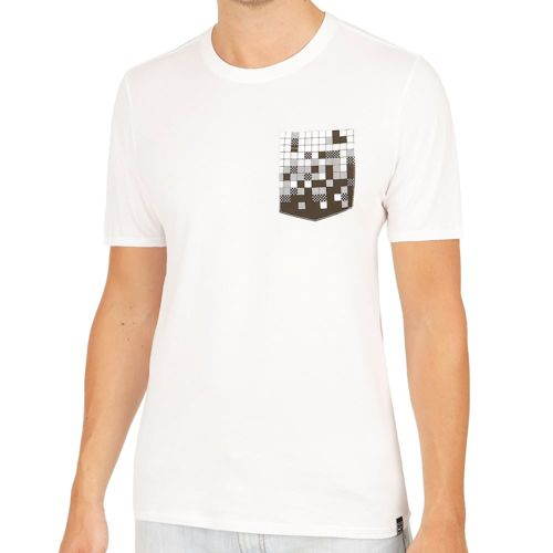 Nike Court Pixel Pocket T-Shirt Men - White, Black