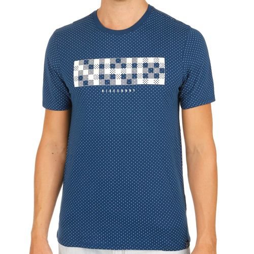 Nike Court NYC T-Shirt Men - Dark Blue, White