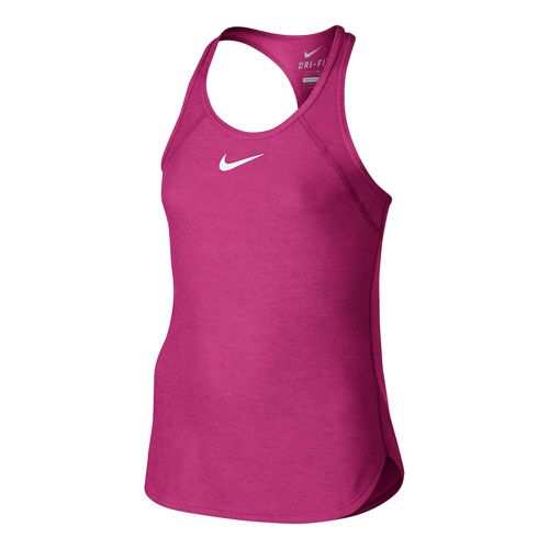 Nike Advantage Slam Top Girls - Pink, White