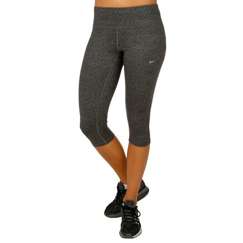 Nike Power Techri Capri Pants Women - Dark Grey, Black