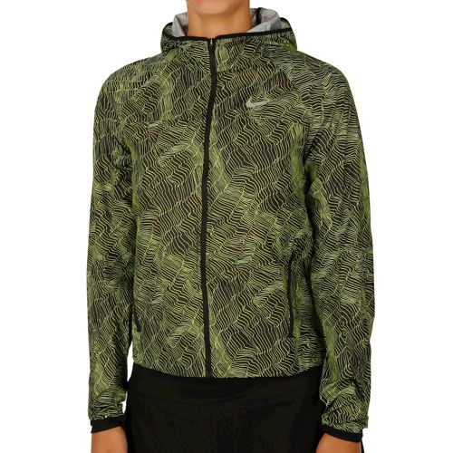 Nike Shield Training Jacket Women - Black, Neon Yellow
