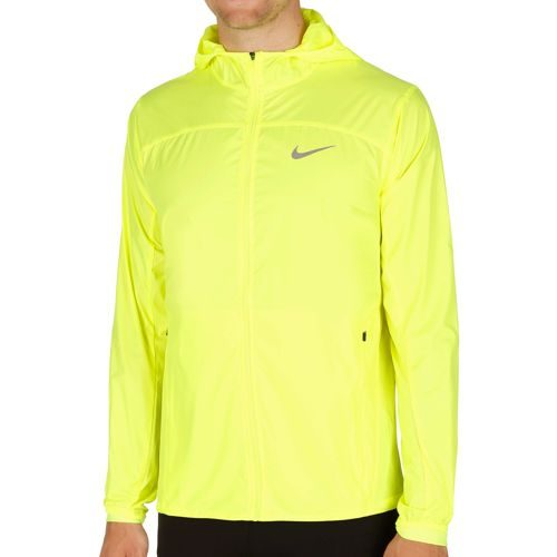 Nike Shield Training Jacket Men - Neon Yellow, Silver
