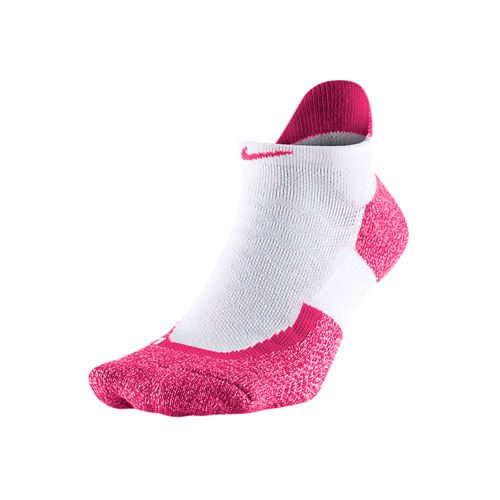 Nike Elite Tennis No Show Sports Socks - Pink, Red