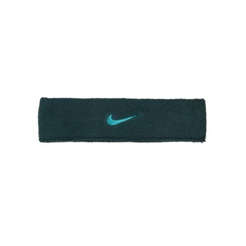 Nike Swoosh Head Band - Dark Green, Turquoise