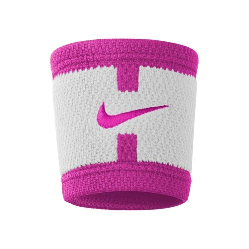 Nike Serena Williams Dri-Fit Court Logo Wristband - White, Violet