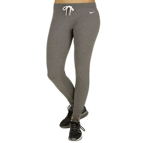 Nike Sportswear Jersey Cuffed Training Pants Women - Dark Grey, White
