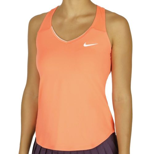 Nike Pure Tank Top Women - Orange, White