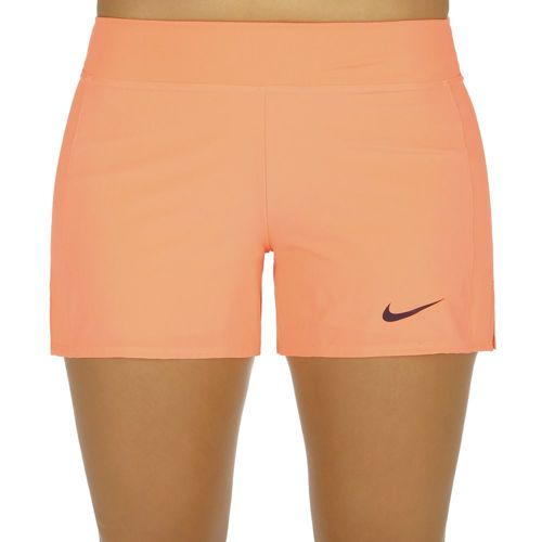 Nike Baseline Shorts Women - Orange, Violet