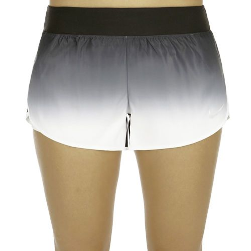Nike Court Flex Shorts Women - Black, White