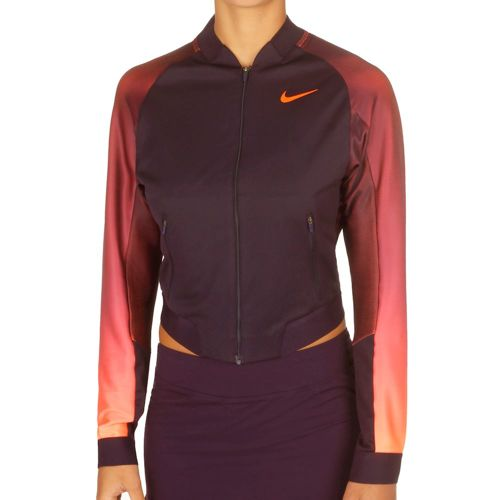 Nike Court Training Jacket Women - Violet, Orange