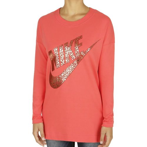 Nike Sportswear Long Sleeve Women - Red, Gold