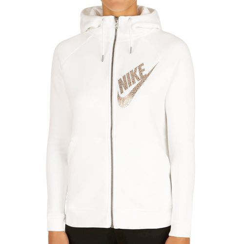 Nike Sportswear Rally Full Zip Training Jacket Women - White, Grey