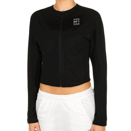 Nike Court Dry Training Jacket Women - Black, White