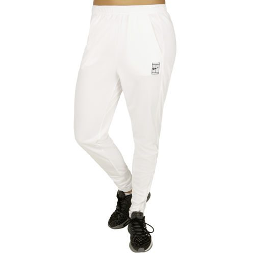 Nike Court Dry Training Pants Women - White, Black