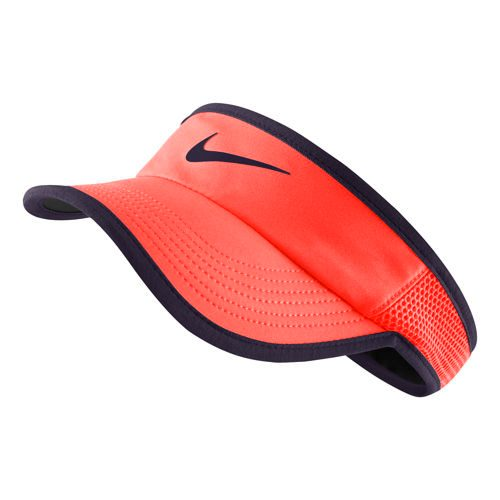 Nike Featherlight Visor Women - Orange, Violet