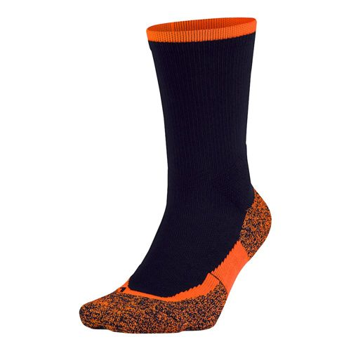 Nike Elite Tennis Crew Sports Socks 1 Pack - Dark Blue, Orange