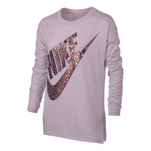 Nike Sportswear Long Sleeve Girls - Violet