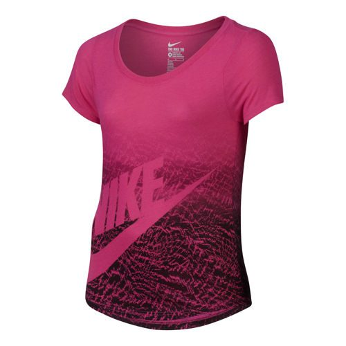 Nike Futura Training T-Shirt Girls - Pink, Black