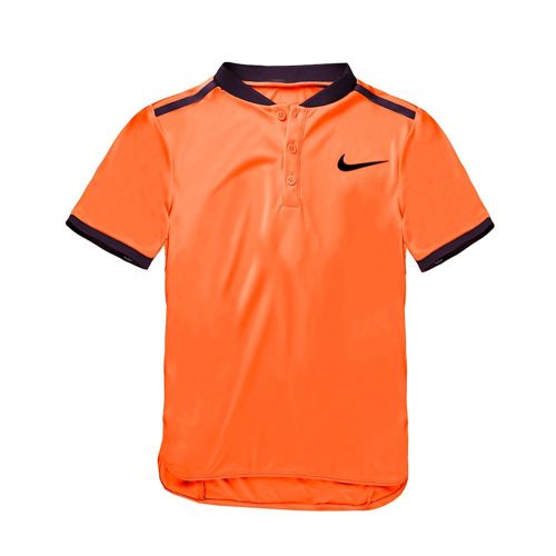 Nike Advanced Solid Polo Boys - Orange, Violet