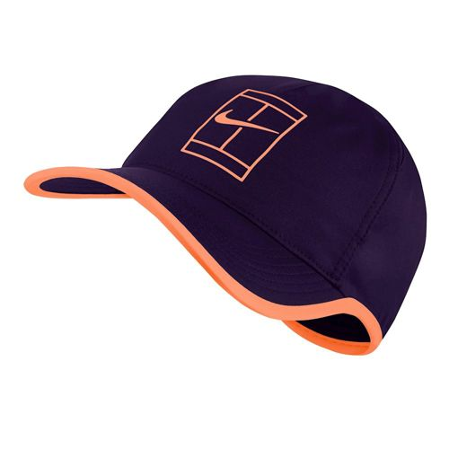 Nike Court AeroBill Featherlight Cap Men - Violet, Orange