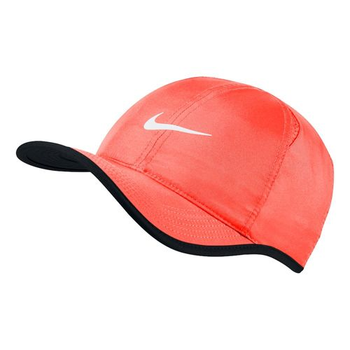 Nike Featherlight Cap Men - Orange, Black