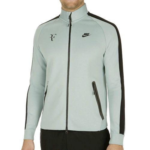Nike Roger Federer Training Jacket Men - Green, Black